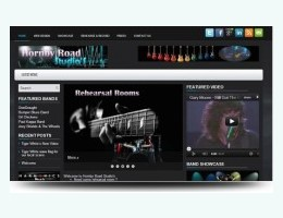 Hornby Studios Website